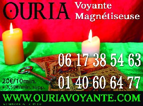 OURIA-VOYANTE-MEDIUM-TAROLOGUE Paris
