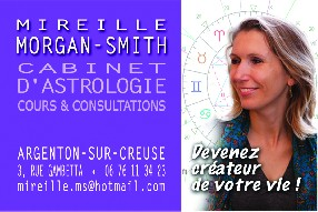 Cabinet d'Astrologie Mireille Morgan-Smith Argenton sur Creuse