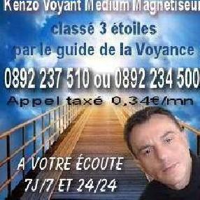 Cabinet de Voyance Kenzo Voyant Médium Magnétiseur Hazebrouck