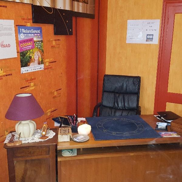 Le bureau de Guy à Bordeaux