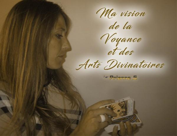 Affiche du cabinet de voyance Arianne .G Voyance